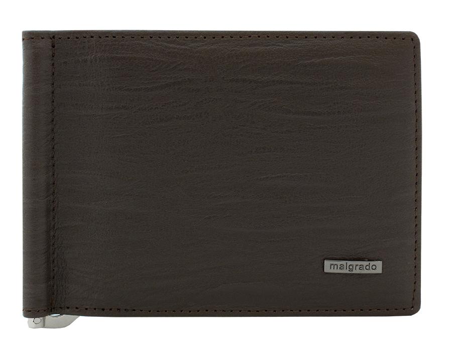 Зажим для купюр Malgrado, цвет: коричневый. 32006-3-52601