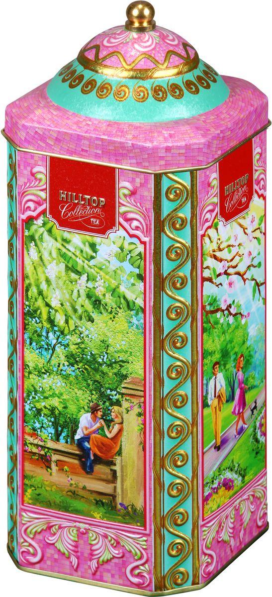 Hilltop Весенняя прогулка черный листовой чай, 125 г