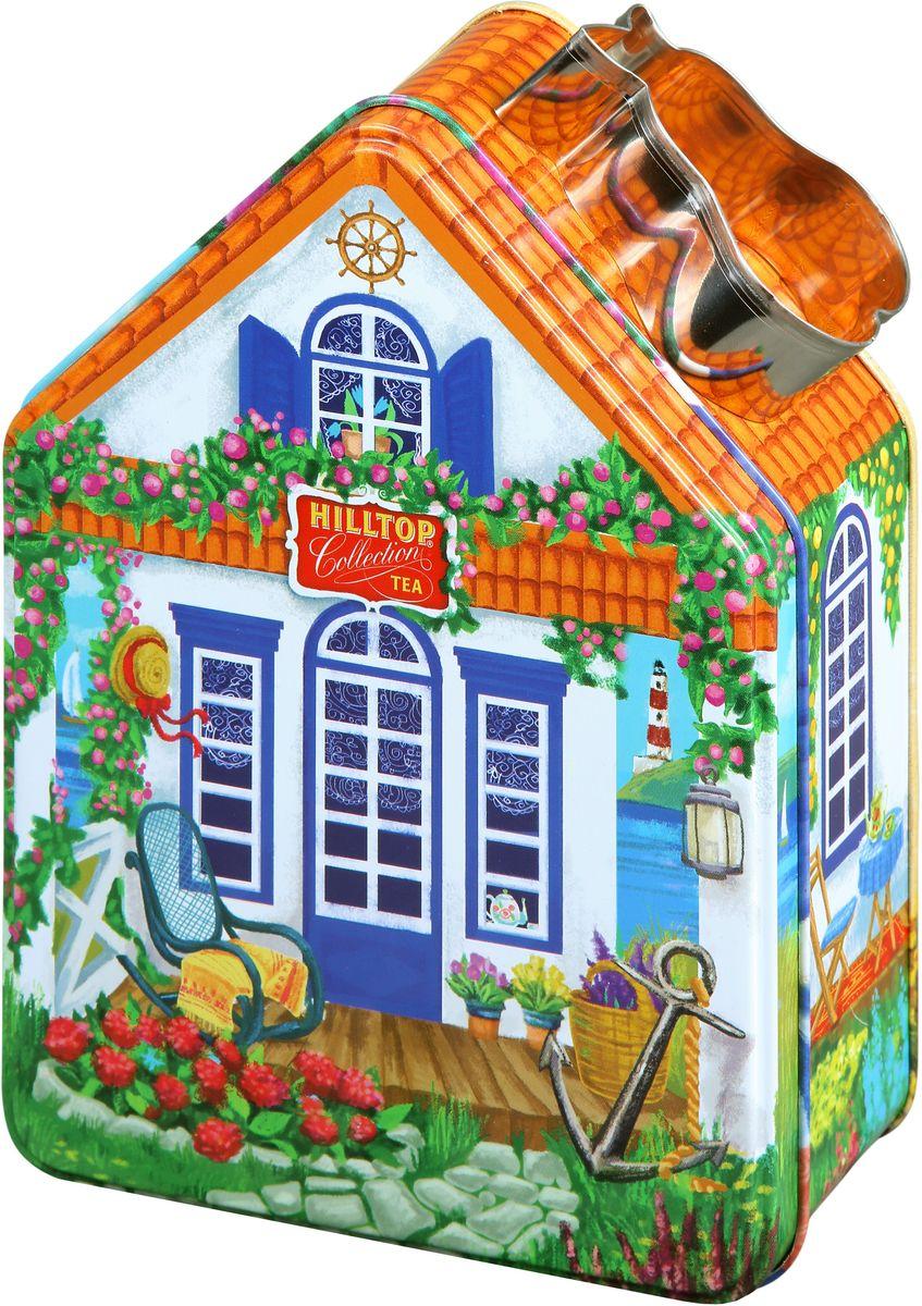 Hilltop Морской домик с рецептом Эрл Грей черный листовой чай, 100 г