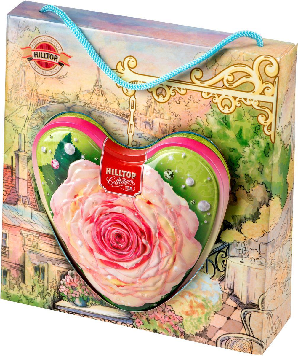 Hilltop Чайная роза листовой чай оолонг, 80 г hilltop музыкальный колокольчик снежные узоры молочный оолонг ароматизированный листовой чай 100 г