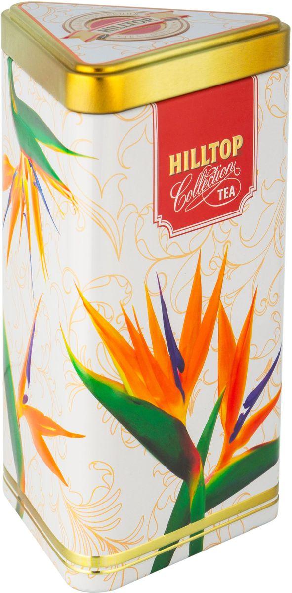 Hilltop Цветы Цейлона. Подарок Цейлона черный листовой чай, 80 г hilltoр волшебный дед мороз чай черный листовой подарок цейлона 80 г