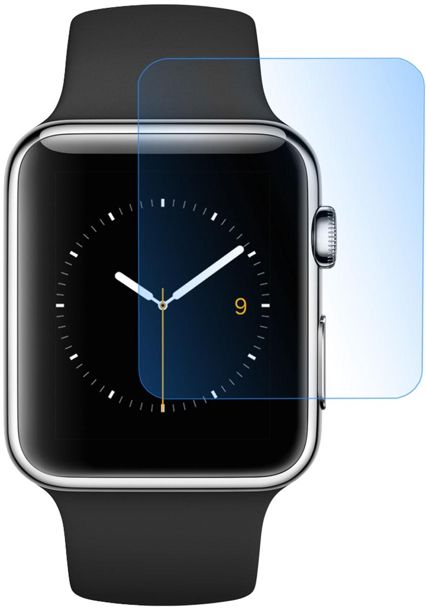 Фото - Skinbox защитное стекло для Apple Watch 42mm, глянцевое защитное стекло skinbox apple watch 38mm