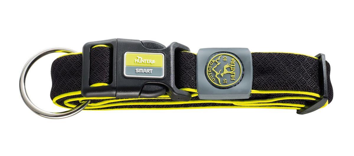 Ошейник для собак Hunter Smart Maui XL, цвет: черный, 48-75 см hunter smart hunter smart игрушка для собак свинка сэм 10 см латекс