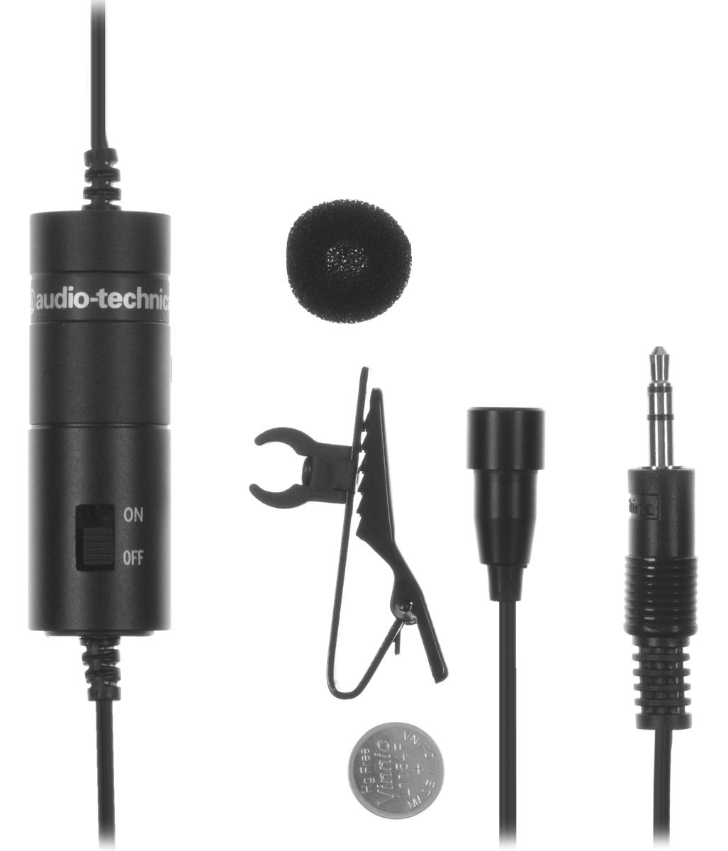 лучшая цена Микрофон Audio-Technica ATR-3350, Black