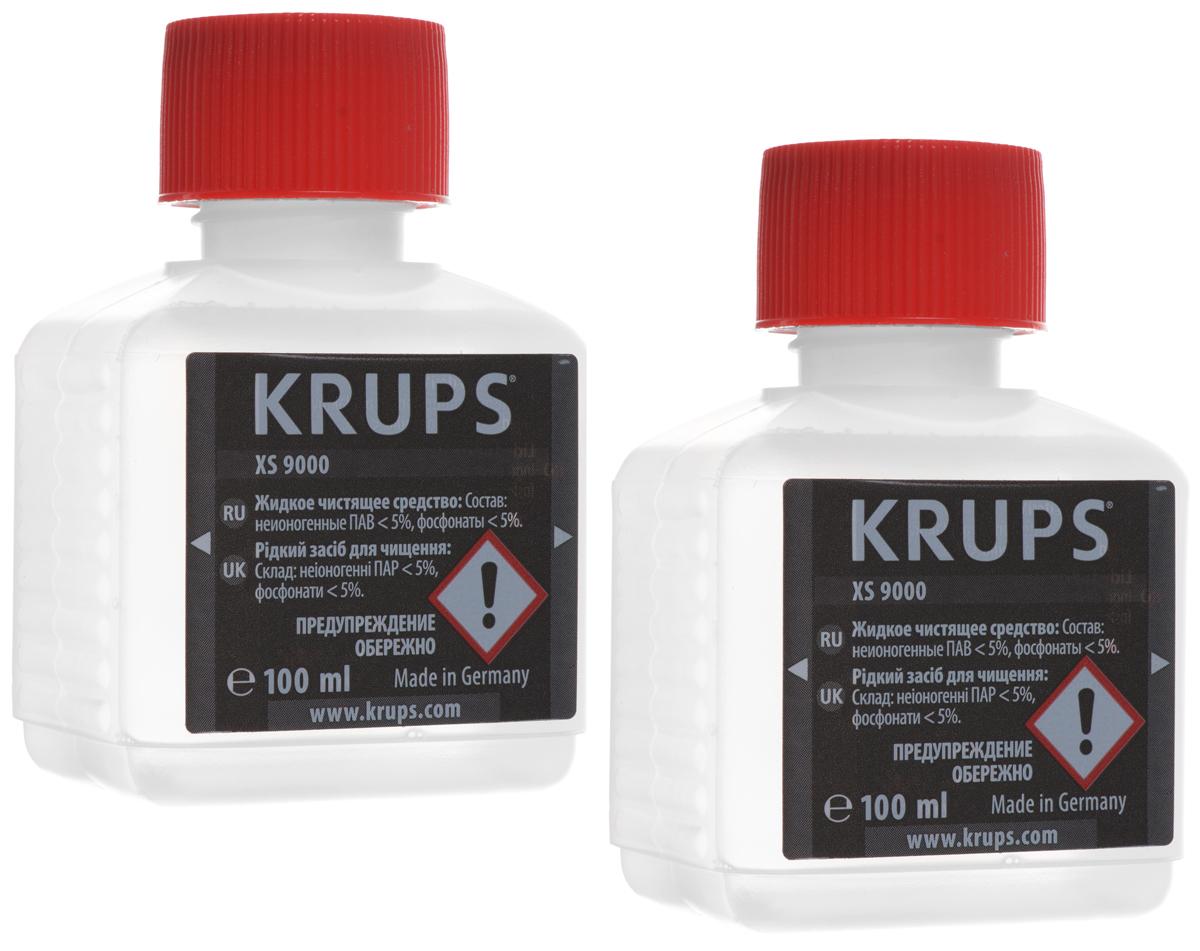 лучшая цена Krups XS900031 жидкость для очистки кофемашины