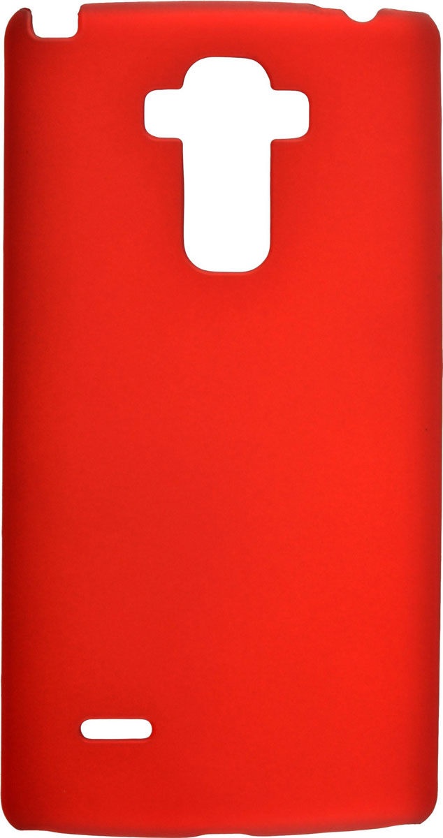 цена на Skinbox 4People чехол для LG G4 Stylus, Red