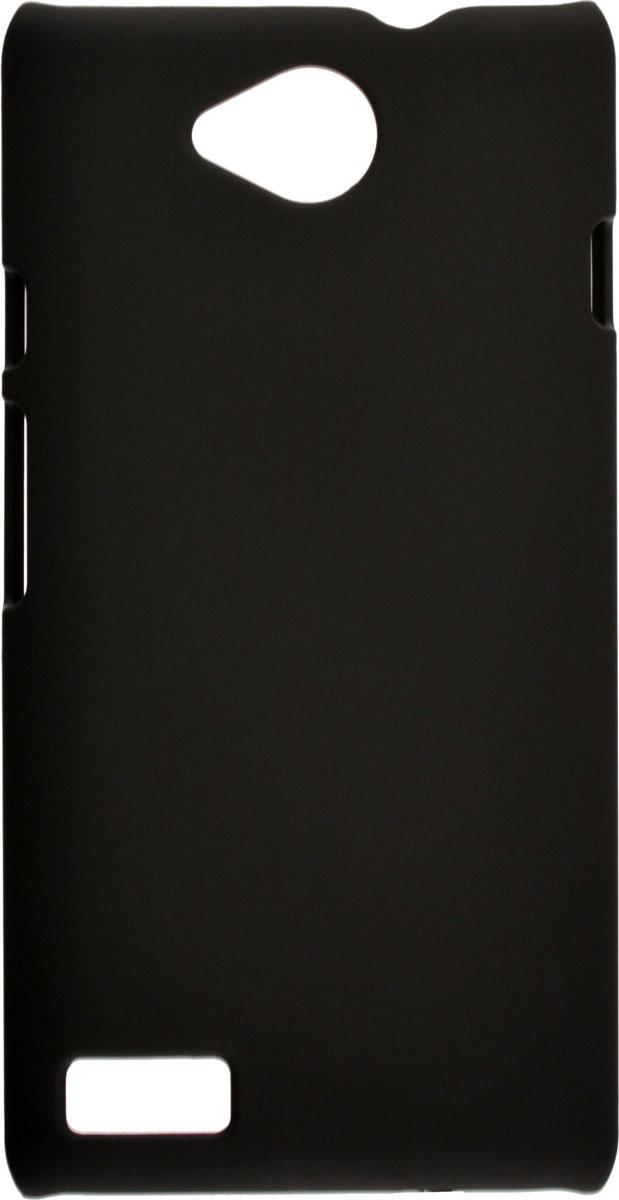 Skinbox 4People чехол для ZTE Blade Q Lux, Black