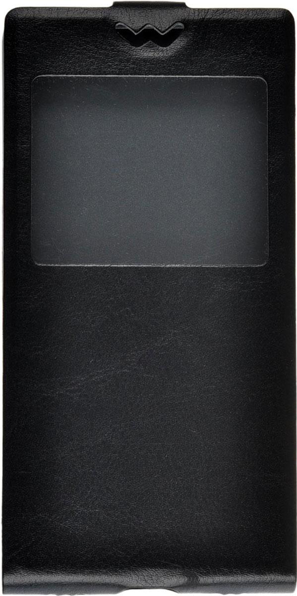 Skinbox Flip slim AW чехол для Huawei P8, Black skinbox flip slim чехол для alcatel 4024d pixi black