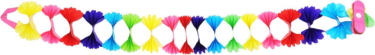 Action! Гирлянда праздничная Пушистые бантики гирлянда праздничная бабочки 4 метра