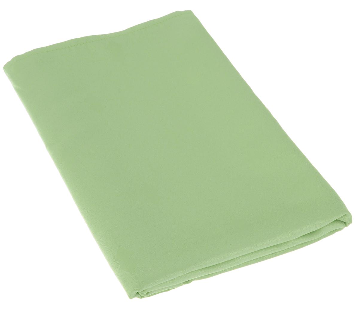"""Скатерть """"Schaefer"""", прямоугольная, цвет: светло-зеленый, 130 х 160 см. 07509-427"""