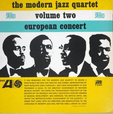 The Modern Jazz Quartet The Modern Jazz Quartet. European Concert Volume Two vic firth mjc1 modern jazz collection 1