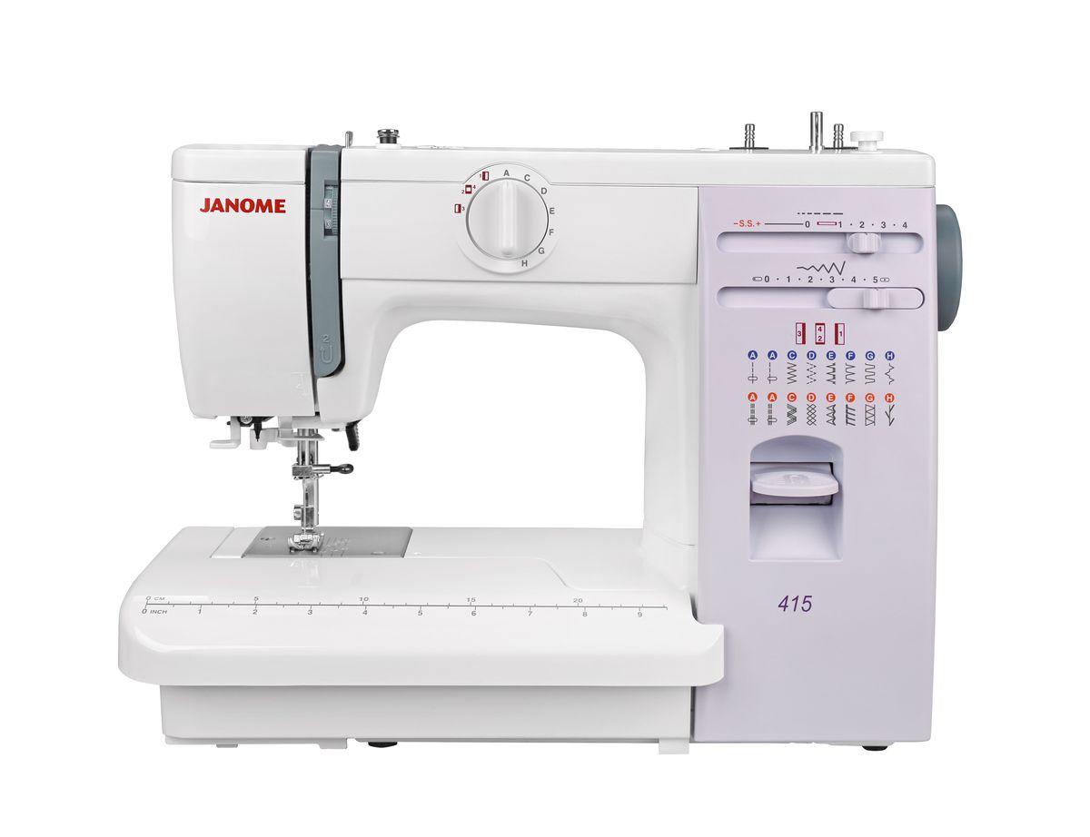 лучшая цена Швейная машина Janome 415