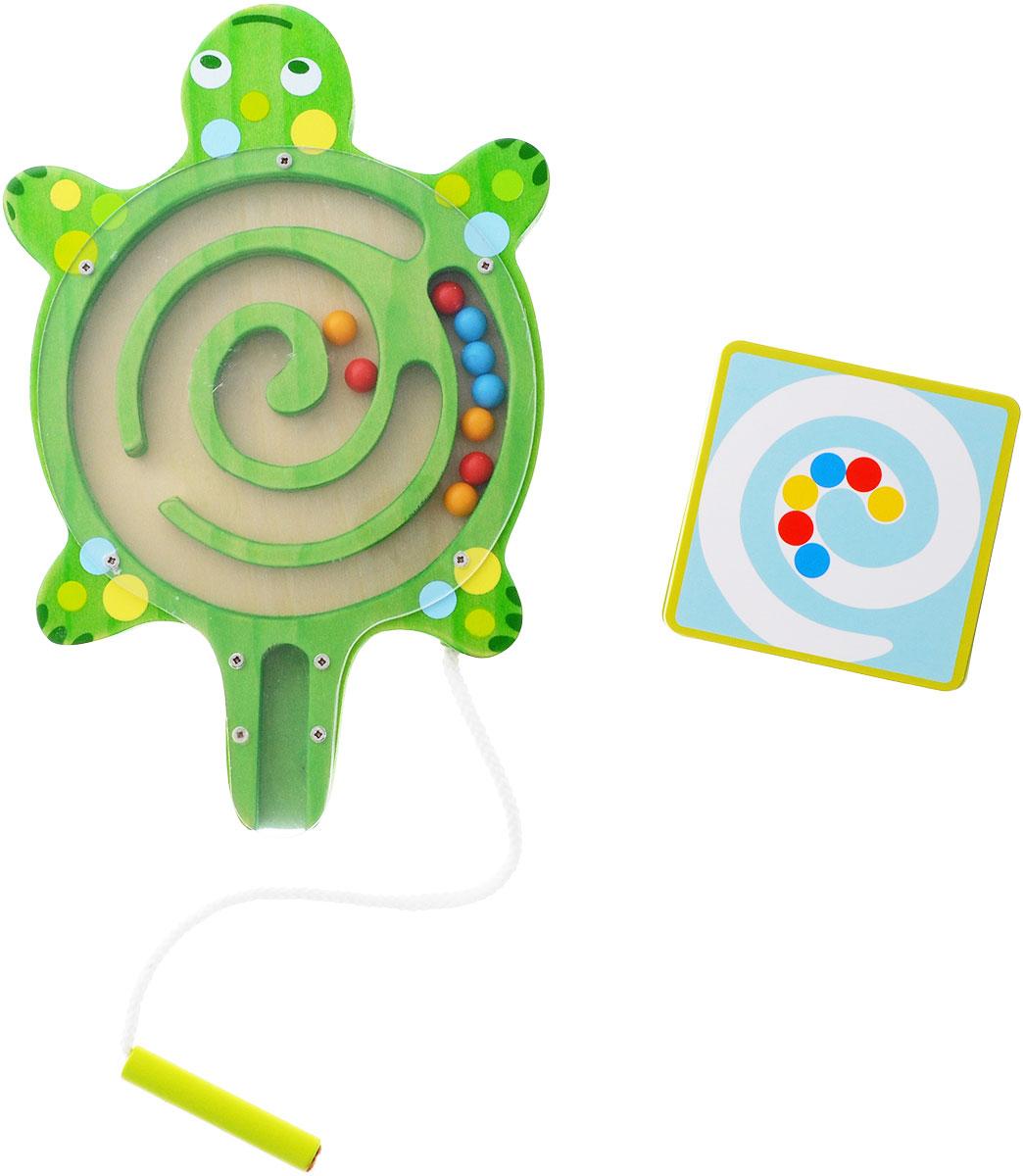 все цены на Djeco Развивающая игрушка Лабиринт Черепаха онлайн