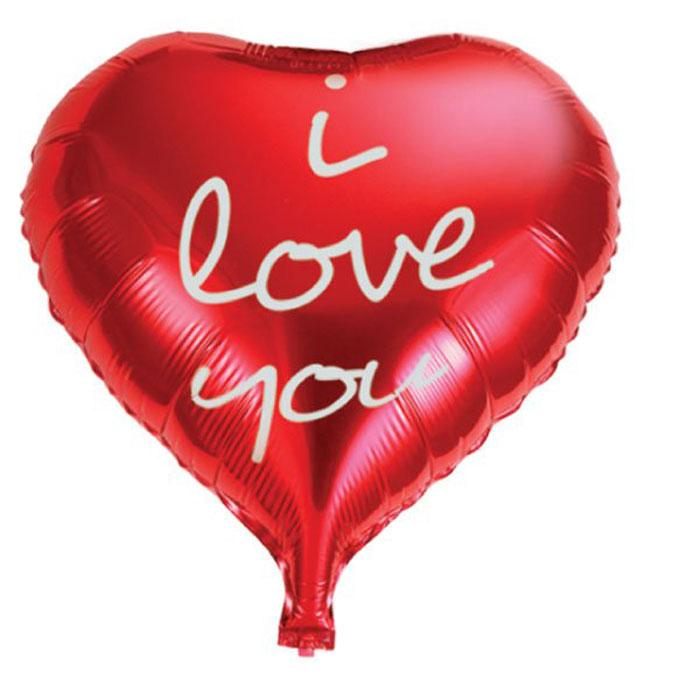 Action! Шар фольгированный I Love You