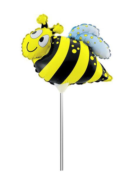 Action! Шар фольгированный на палочке Пчела action шар фольгированный на палочке мотоцикл