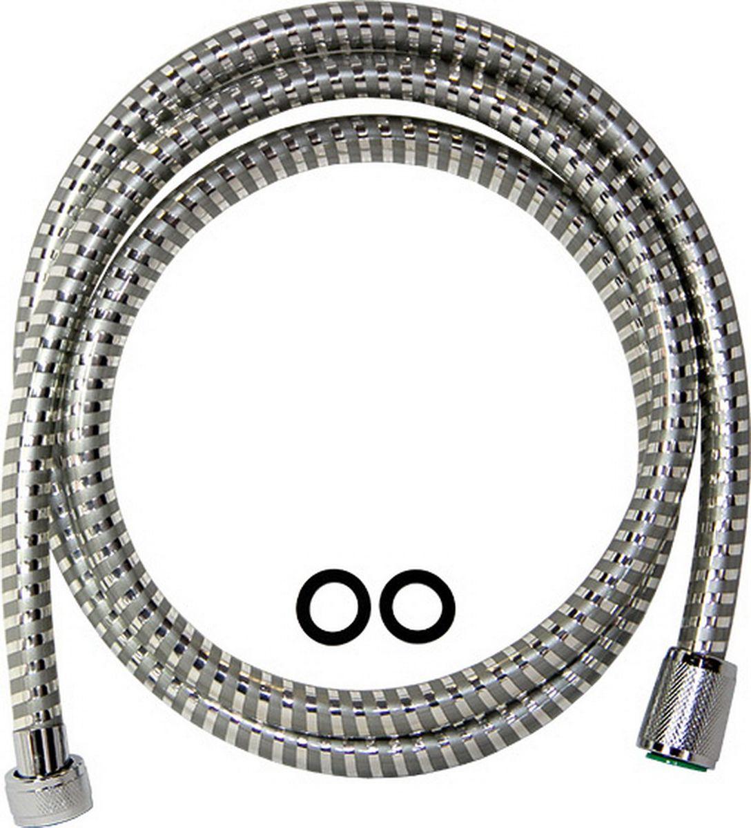 Шланг для душа Argo Еspiroflex, цвет: серый, 165 см шланг для душа argo eur s eco