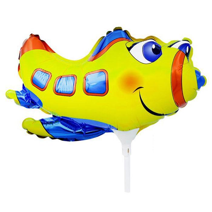 Action! Шар фольгированный на палочке Самолет action шар фольгированный на палочке мотоцикл