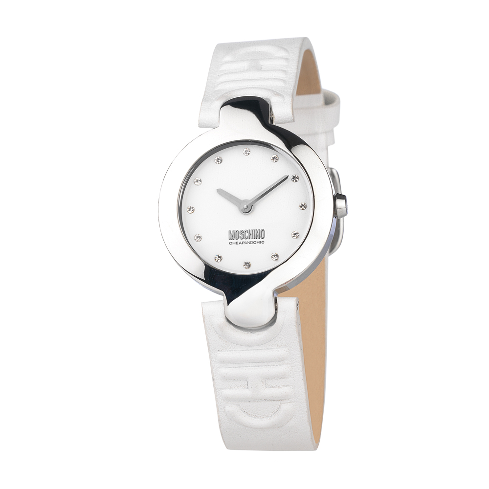 Часы женские наручные Moschino Full Of Chic, цвет: белый. MW0350 все цены