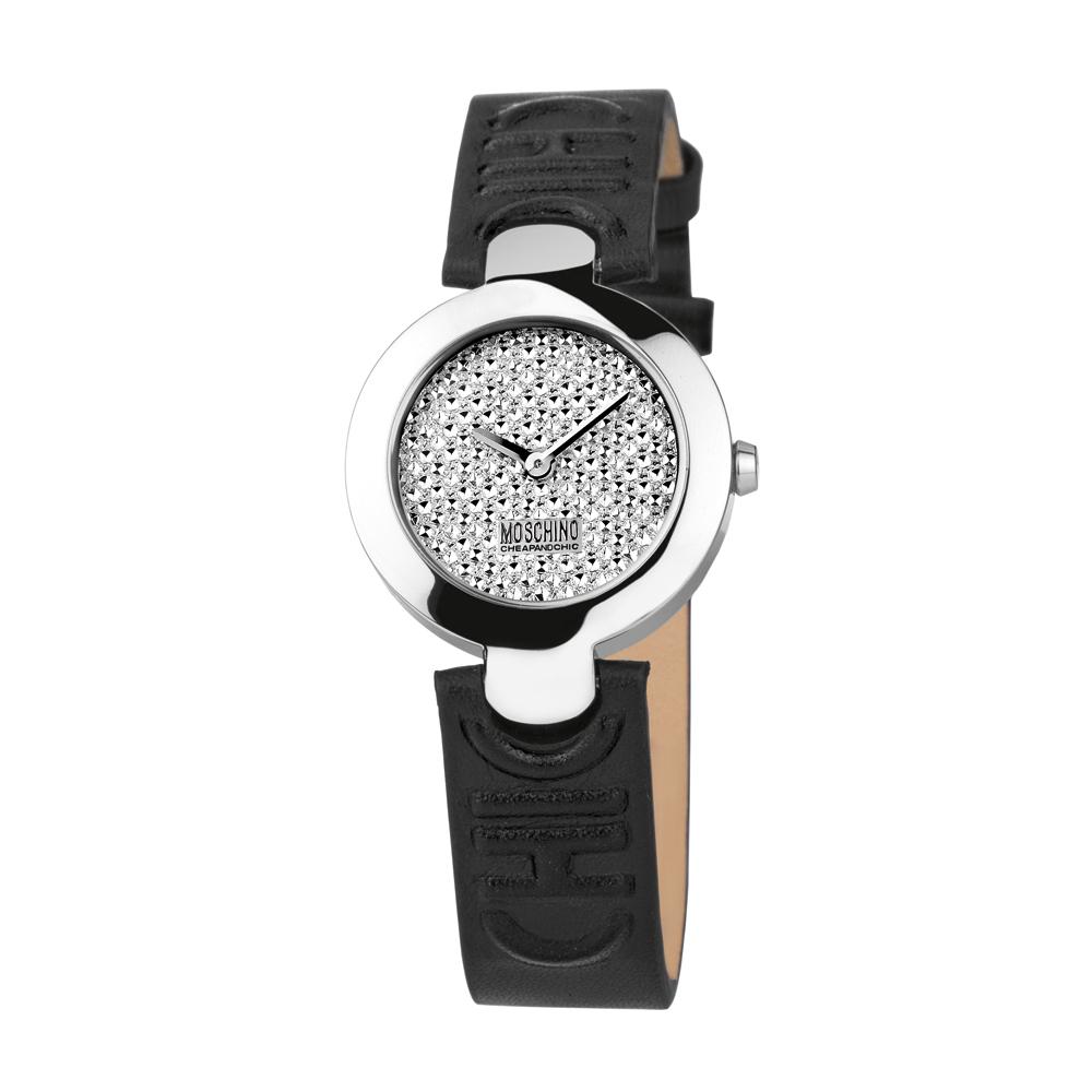 Часы женские наручные Moschino Full Of Chic, цвет: черный. MW0354 все цены