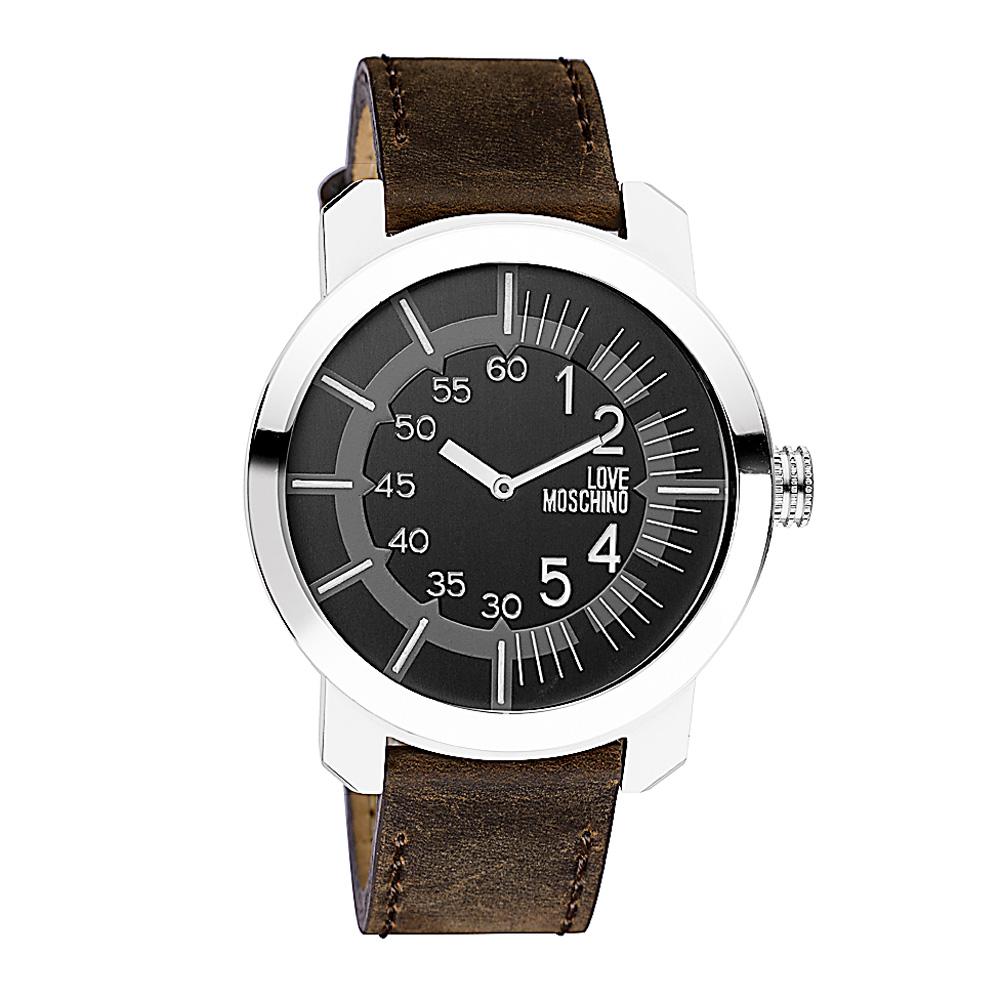 Часы женские наручные Moschino Tic-Toc, цвет: коричневый. MW0404 все цены