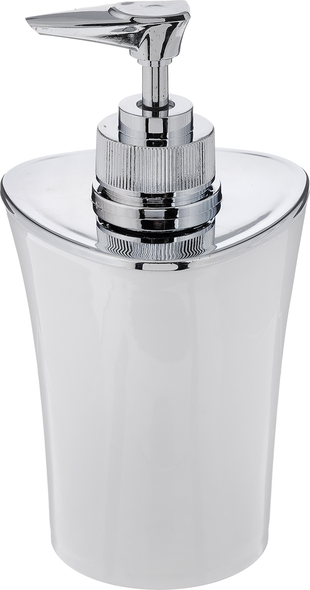 Фото - Дозатор для жидкого мыла Vanstore Wiki White, цвет: белый, 300 мл плавки wiki цвет белый черный