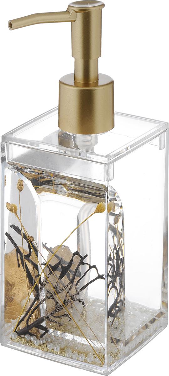 Дозатор для жидкого мыла Vanstore Aurum, 300 мл дозатор для жидкого мыла vanstore wiki white цвет белый 300 мл