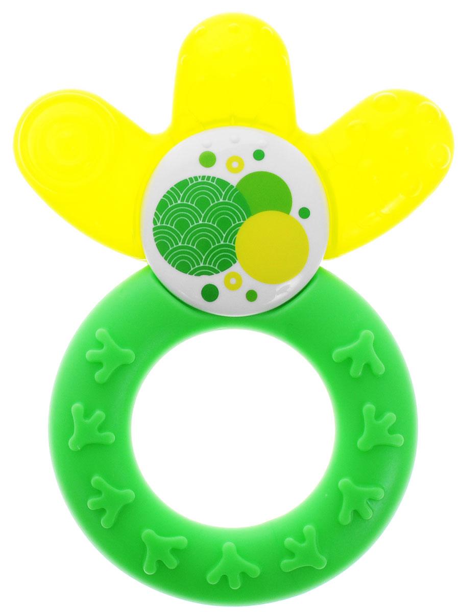 MAM Прорезыватель охлаждающий Cooler цвет зеленый желтый mam прорезыватель для зубов bite