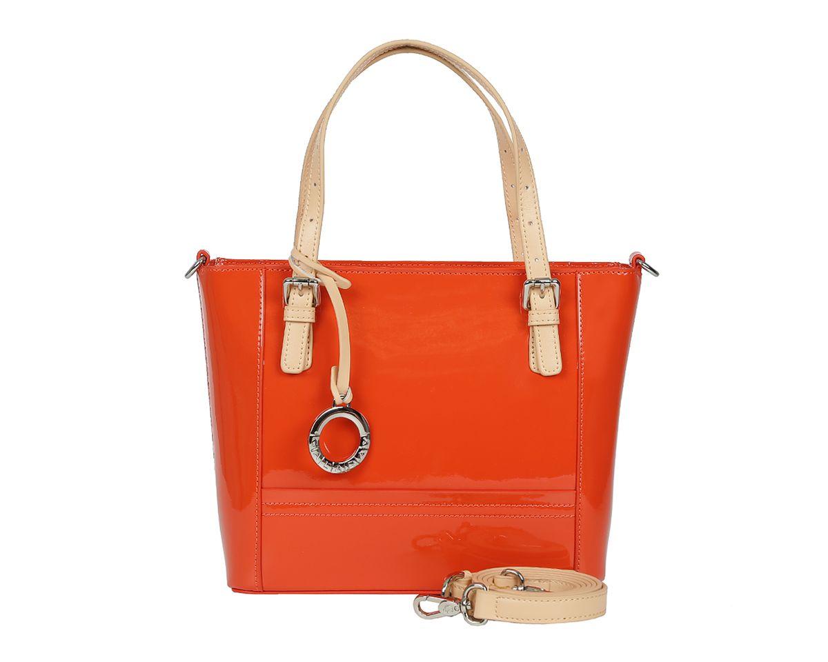 купить Сумка женская Galaday, цвет: оранжевый. GD6020 по цене 9960 рублей