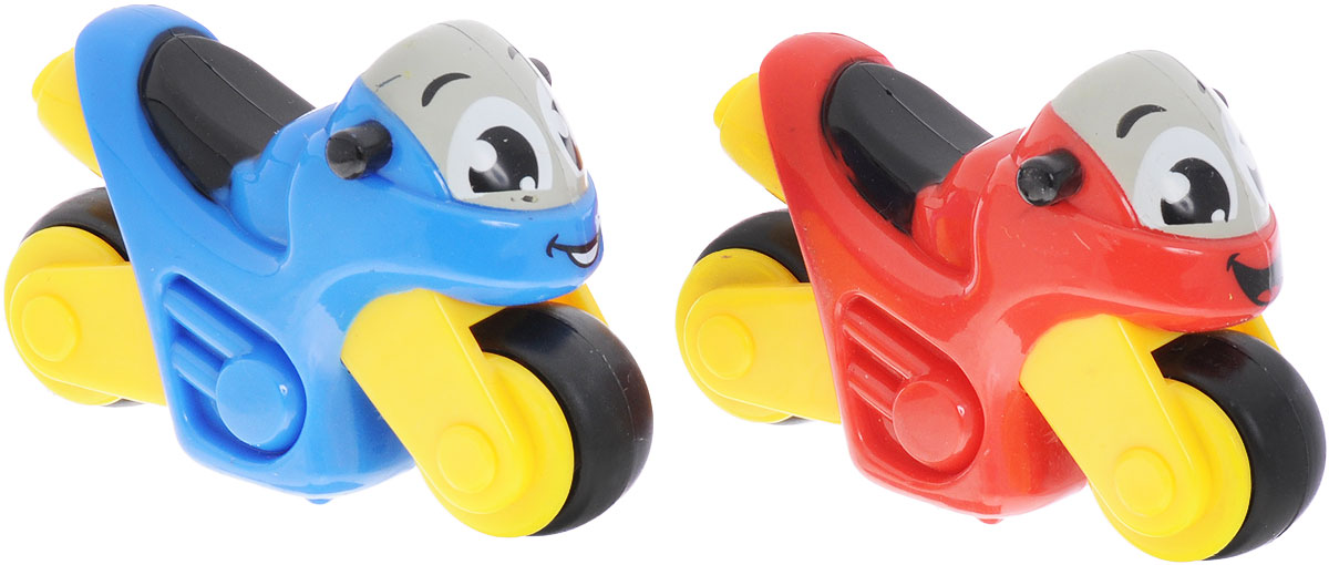 Smoby Набор мотоциклов Vroom Planet 2 шт цвет синий красный smoby телефон шпиона тачки 2 smoby