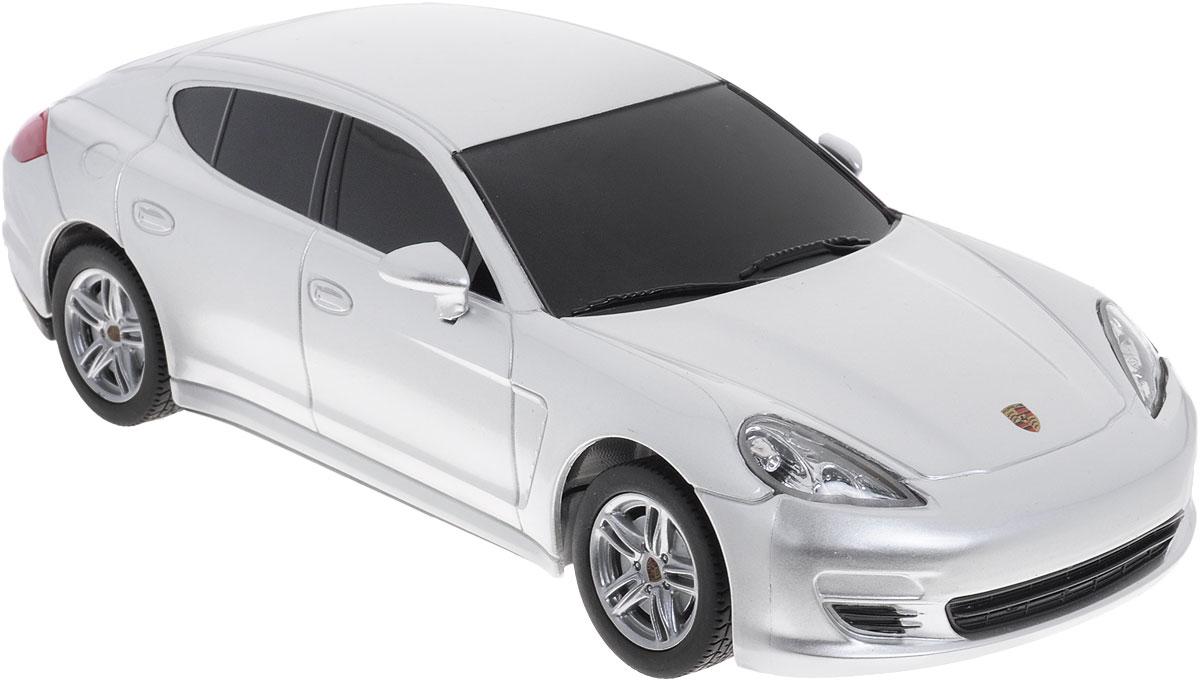 Rastar Радиоуправляемая модель Porsche Panamera цвет серебристый масштаб 1:24 rastar радиоуправляемая модель porsche cayenne turbo цвет белый масштаб 1 24