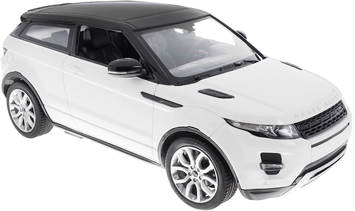 Rastar Радиоуправляемая модель с рулем Range Rover Evoque цвет белый игрушечная техника и автомобили rastar 43000 1 14 lp700 4 rc roadstar