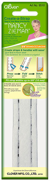 """Заготовка для изготовления ремней и ручек для сумок """"Clover"""", 1,5 см"""