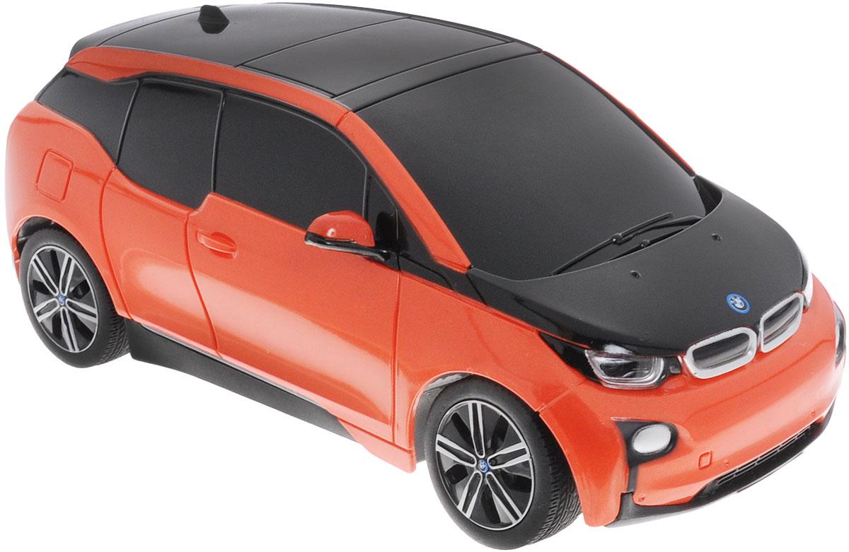 Rastar Радиоуправляемая модель BMW i3 цвет оранжевый черный цена