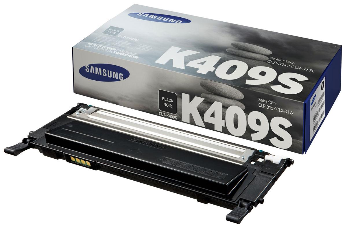 Картридж Samsung CLT-K409S, черный, для лазерного принтера, оригинал цена