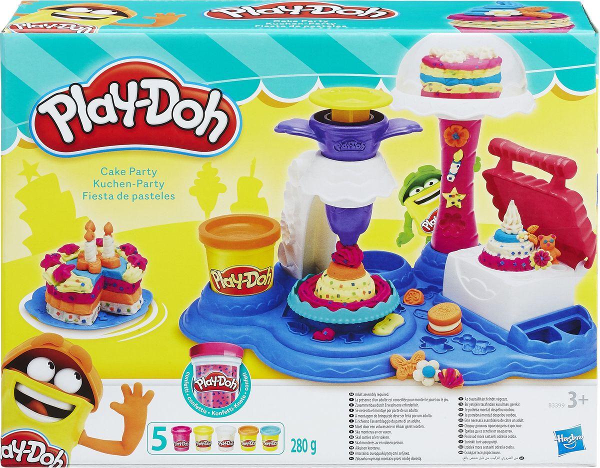 Play-DohНабор для лепки Сладкая вечеринка Play-Doh