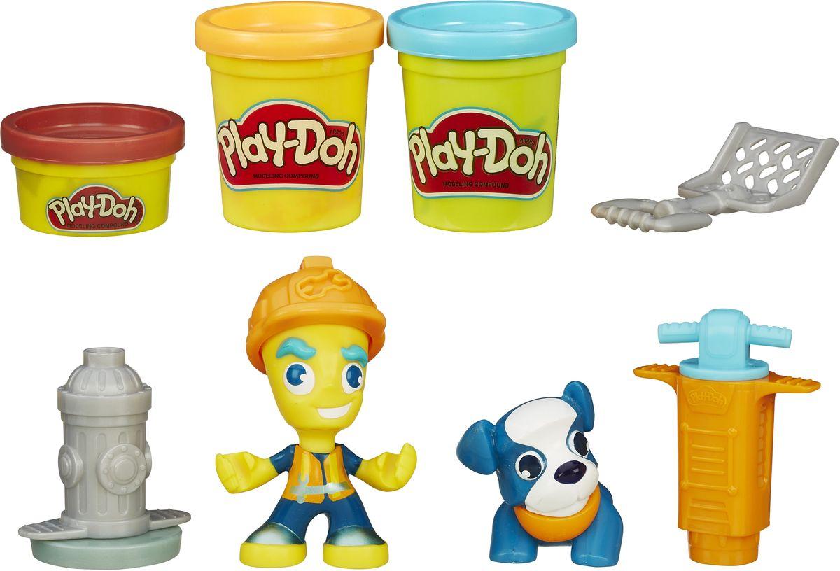Play-Doh Игровой набор Житель и питомец hasbro play doh игровой набор житель и питомец в ассорт с 3 х лет