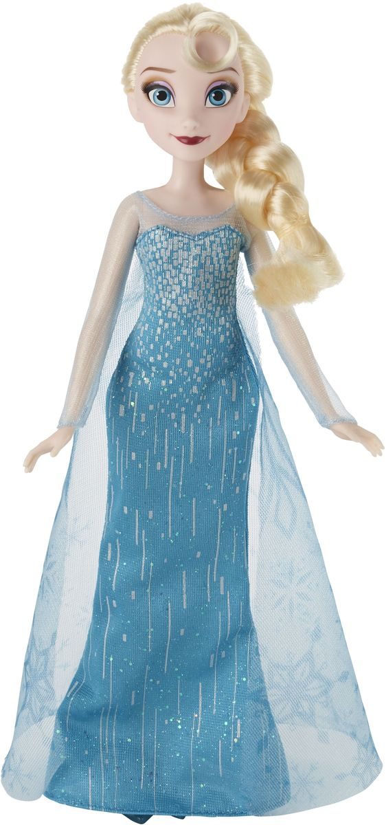 Disney Frozen Кукла Эльза цвет платья изумрудный цена