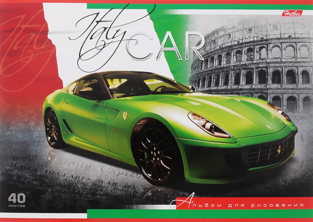 Hatber Альбом для рисования Италия 40 листов