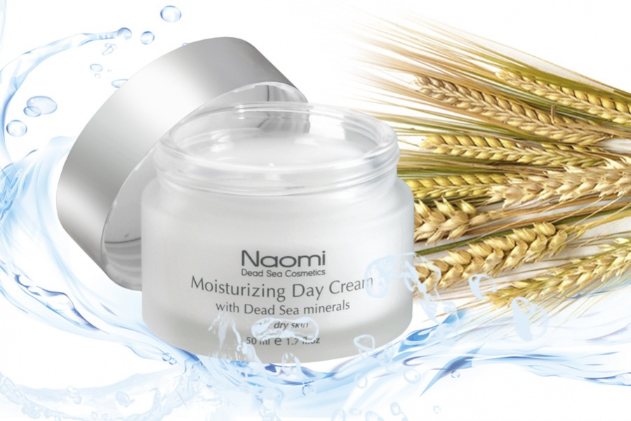 Naomi Крем для лица увлажняющий с минералами Мертвого моря (для нормальной и жирной кожи) 50 мл