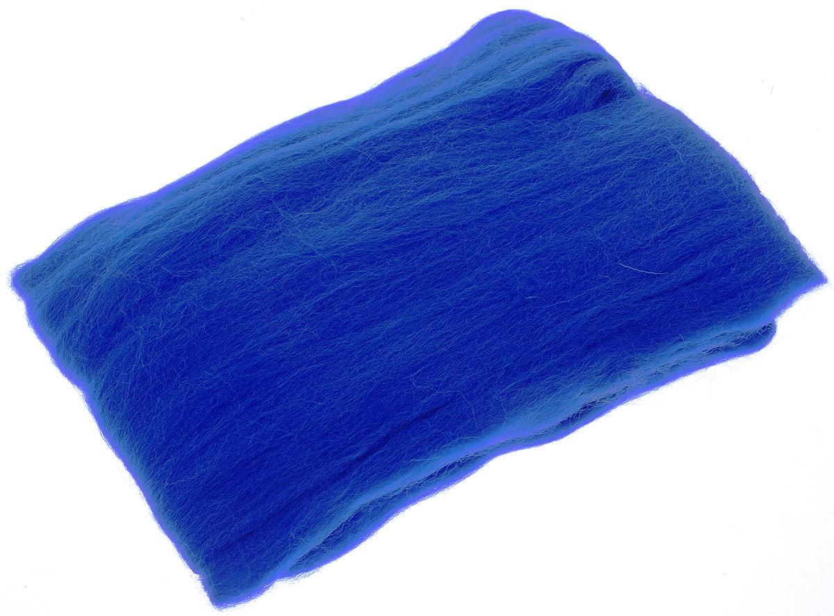 Шерсть для валяния RTO, цвет: синий (04), 50 г смирнова е оригинальный войлок техника мокрого валяния