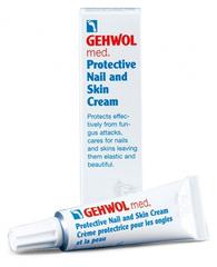Gehwol Med Protective Nail and Skin Cream - Крем для защиты ногтей и кожи 15 мл gehwol med protective nail and skin oil масло для защиты ногтей и кожи 15 мл