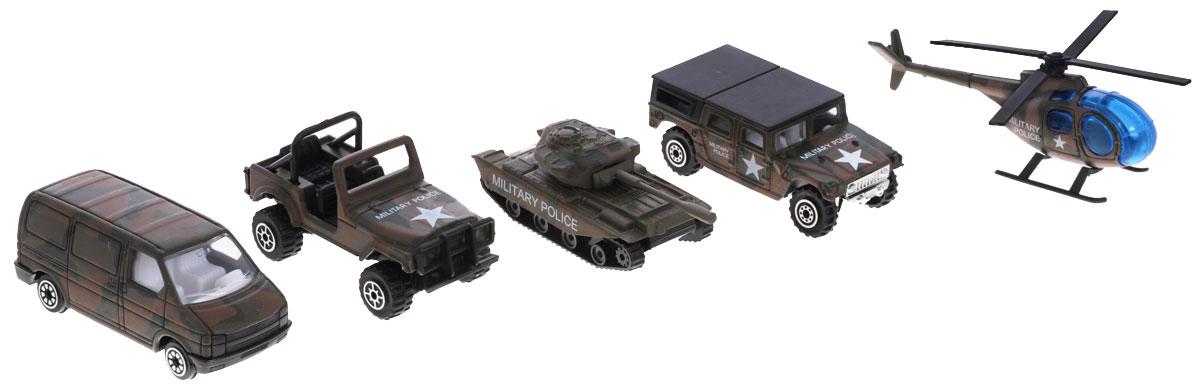 Welly Игровой набор Военно-полицейская команда 5 предметов welly игровой набор строительная бригада 5 предметов