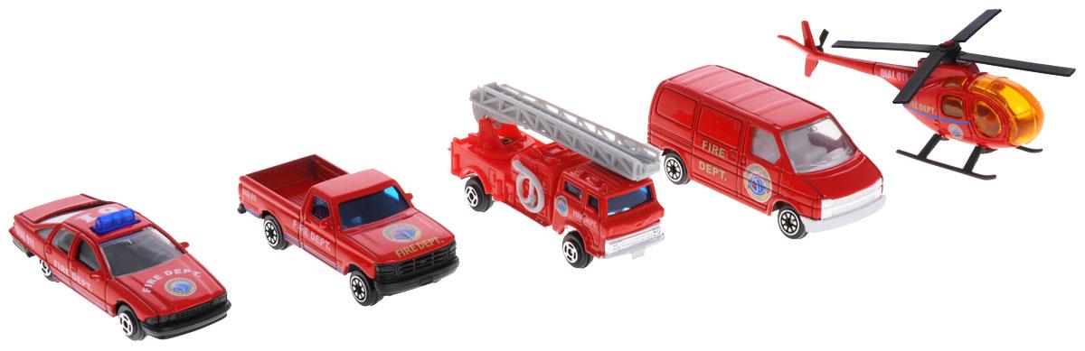 Welly Игровой набор Пожарная команда 5 предметов