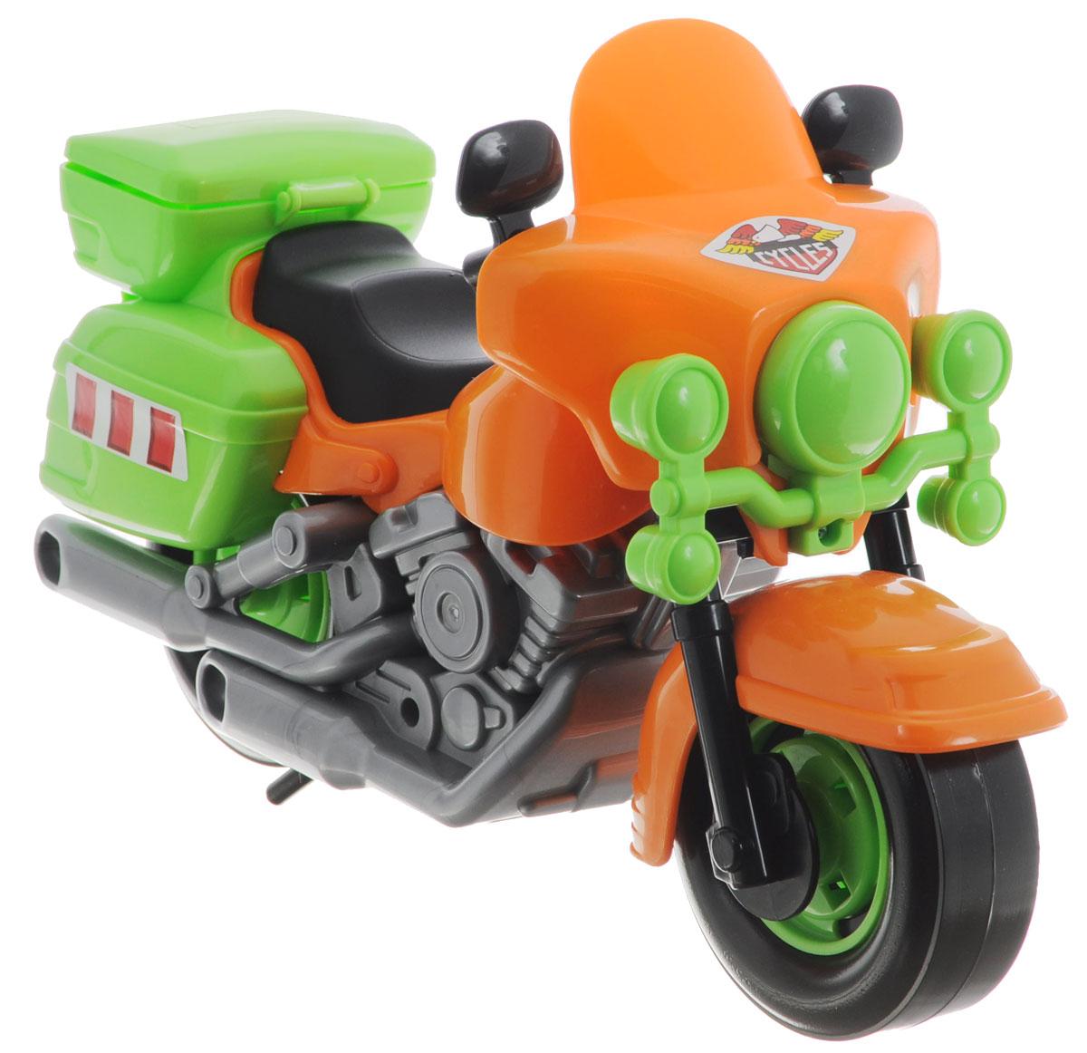 Полесье Полицейский мотоцикл Харлей цвет в ассортименте