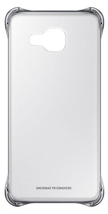 цена Samsung EF-QA310C Clear Cover чехол для Galaxy A3 (2016), Silver