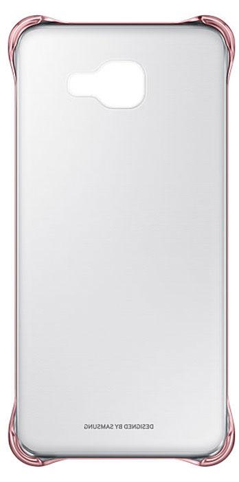 Samsung EF-QA710C Clear Cover чехол для Galaxy A7 (2016), Pink samsung clearcover чехол для galaxy a7 sm a710f silver