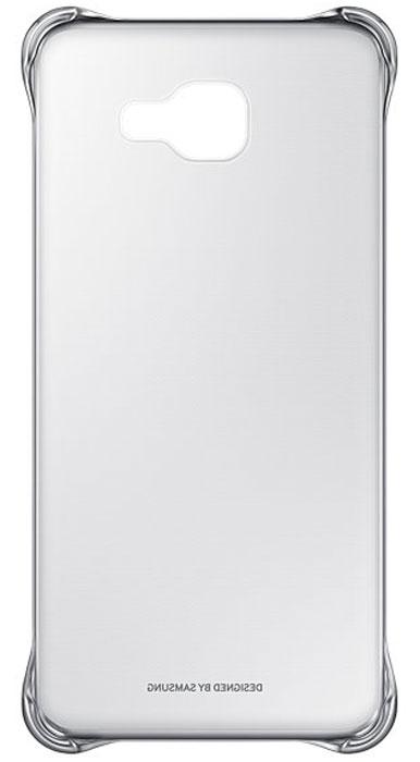 Samsung EF-QA710C Clear Cover чехол для Galaxy A7 (2016), Silver samsung ef qa710c clear cover чехол для galaxy a7 2016 black