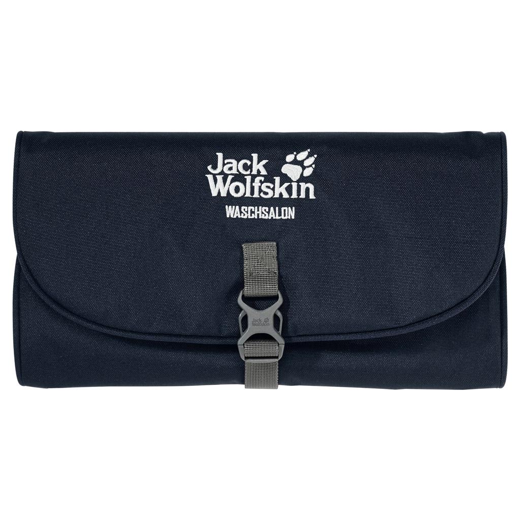 Дорожная косметичка Jack Wolfskin Waschsalon, цвет: темно-синий. 86130-1010 цена