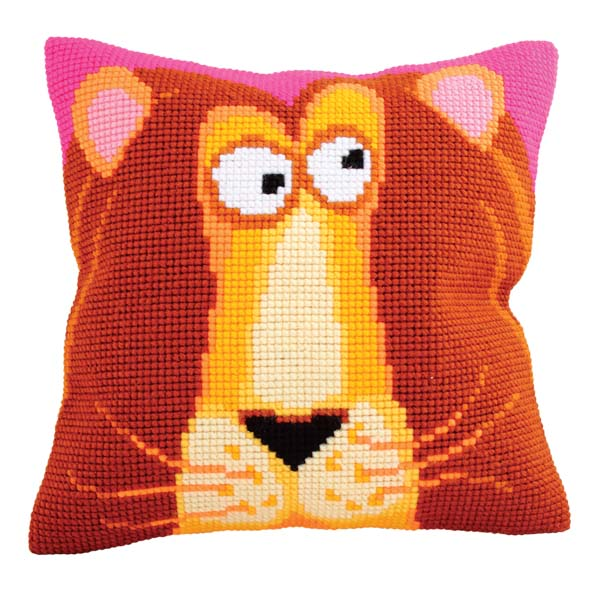 Набор для вышивания подушки Collection D'Art, 40 х 40 см. 5180 набор для вышивания подушки collection d art 40 х 40 см 5 193