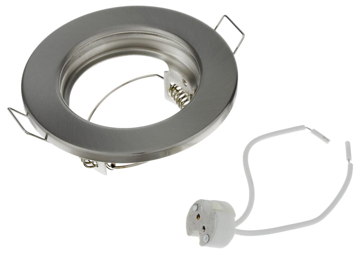 Встраиваемый светильник Elektrostandard, GU5.3, 50 Вт